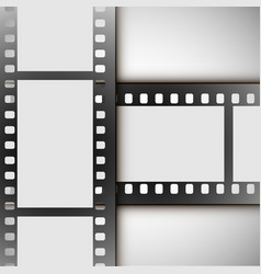 Film strip on a white background vector