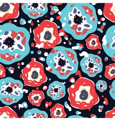 Flowers pattern4 vector