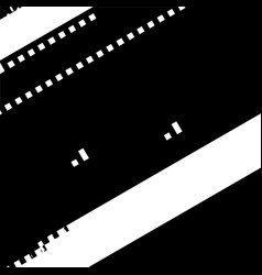 glitched diagonal overlay vector image