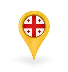 Location Georgia vector