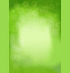 spring modern trendy background with bokeh in vector image
