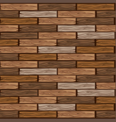 Wood brown floor tiles pattern seamless texture vector