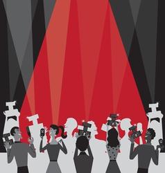 hollywood movie awards vector image
