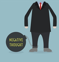 negativethought vector image