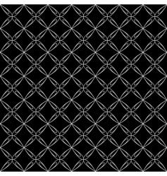 crisscross pattern vector image vector image
