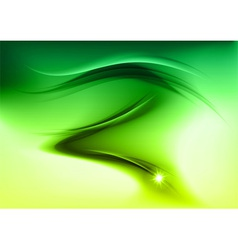abstract smoke green vector image