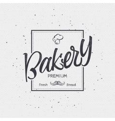 Bakery Handwritten inscription Hand drawn vector