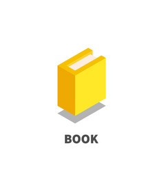 book icon symbol vector image