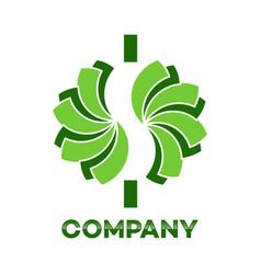Cash dollar logo vector