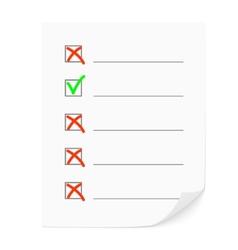 Check list vector