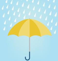Rainy season design vector image