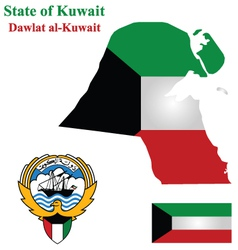 State of Kuwait vector