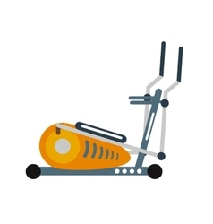 Treadmill vector image