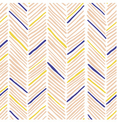 Trendy simple seamless many zigzag pattern vector