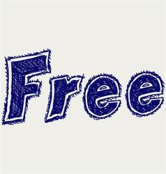 Free sticker vector image