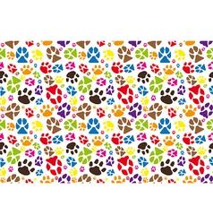 Animal paws vector image