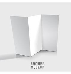 brochure vector image vector image