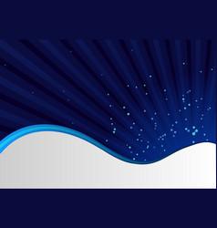 Abstract blue sunburst background vector