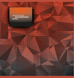 Abstract triangulated background beautiful vector