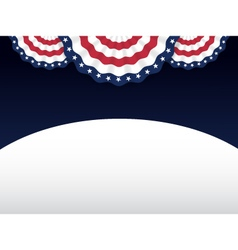 American style background vector