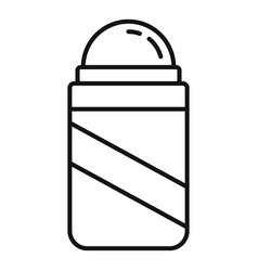 Beauty deodorant icon outline style vector