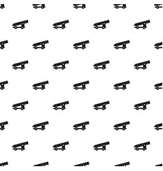 Cannon pattern vector