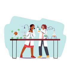 Educational science activities for kids school vector