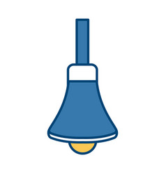 handbell isolated symbol vector image