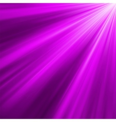 Violet luminous rays background vector