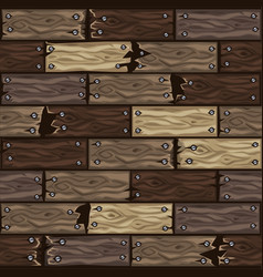 wood dark brown floor tiles pattern seamless vector image