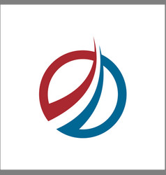 abstract accounting financial management logo vector image