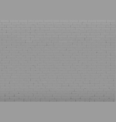 background with black brick wall vector image