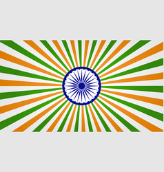 bright indian background vector image