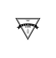 Electric cigarette personal vaporizer e-cigarette vector