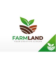 Farm logo design agriculture logo design vector
