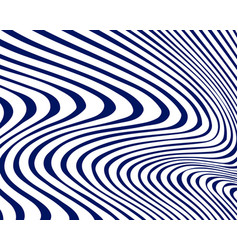 Minimal abstract wavy background vector