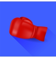 Red Boxing Glove vector