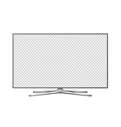 smart tv mock up vector image