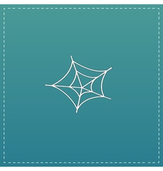 Spiderweb icon Web symbol vector image