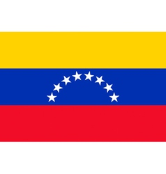 Venezuelan civil flag vector image