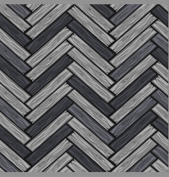 wood herringbone floor tiles pattern seamless vector image