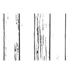 Wood planks isolated texture overlay vector