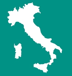 Italy map1 vector image