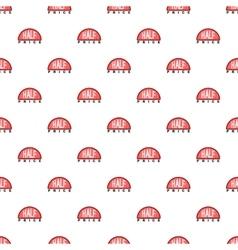 Label half price pattern cartoon style vector image vector image