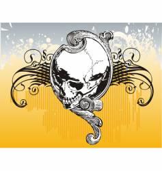 legion skull illustration vector image vector image