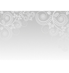 light gray background vector image vector image