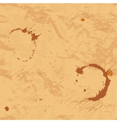 Stained old paper vector image