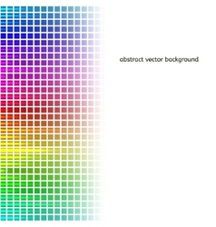 Abstract squares equalizer background vector image