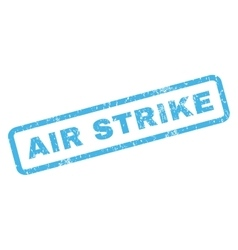 Air Strike Rubber Stamp vector
