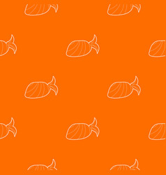 bandana pattern orange vector image